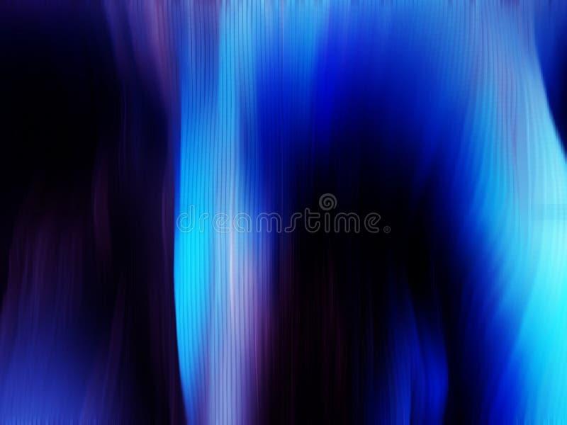 Luz norteña azul imágenes de archivo libres de regalías