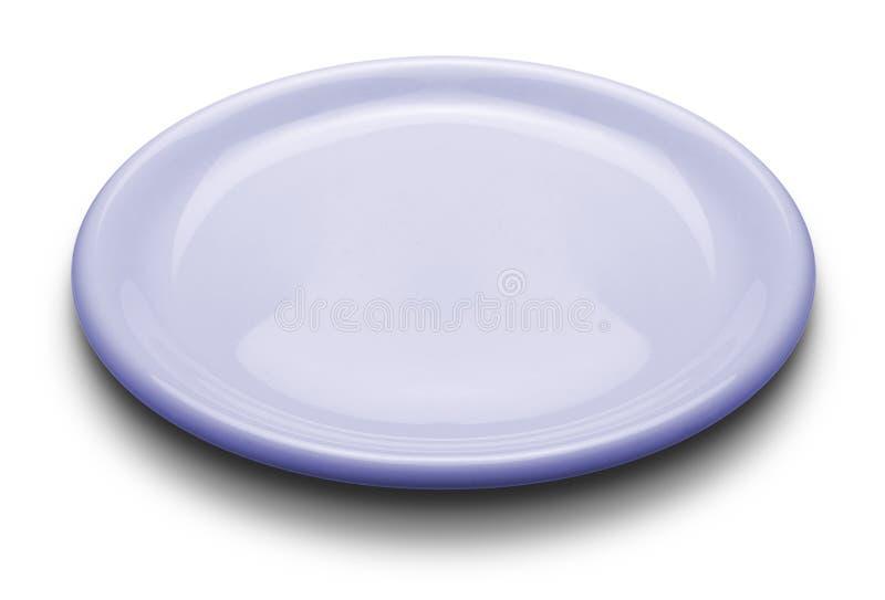 Luz - placa azul imagem de stock royalty free