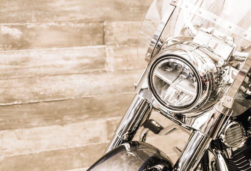 Luz principal da motocicleta fotos de stock royalty free