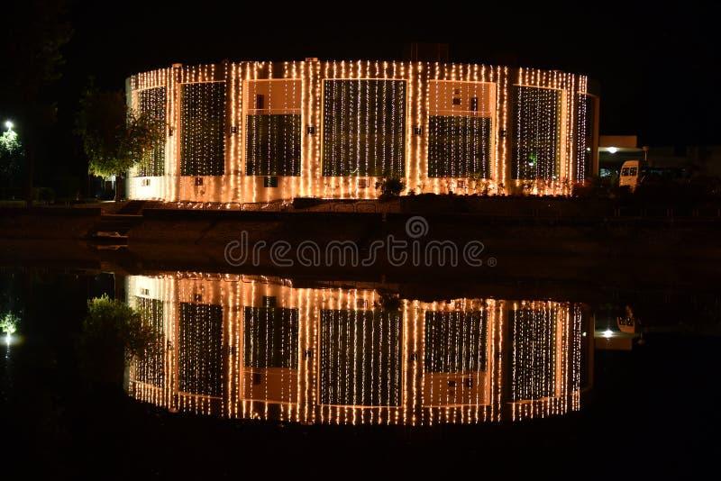 A luz reflete no mar da água fotografia de stock royalty free