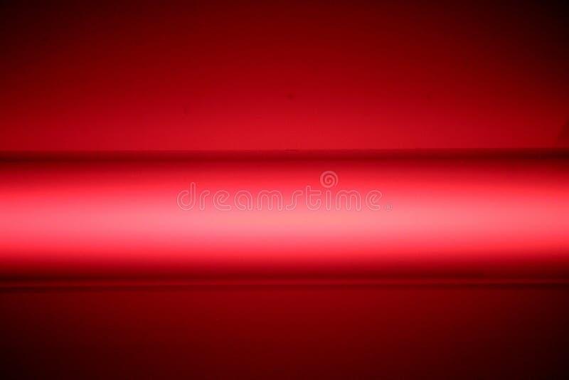 Luz roja de neón fotos de archivo