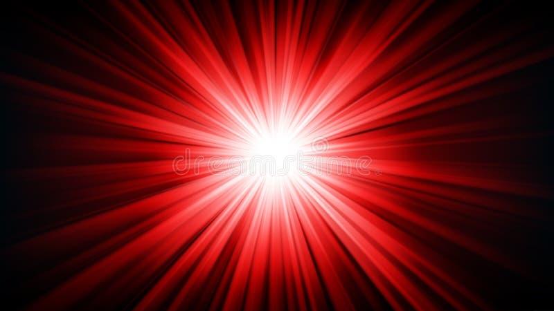 Luz roja que brilla de relación de aspecto del 16:9 de la oscuridad libre illustration