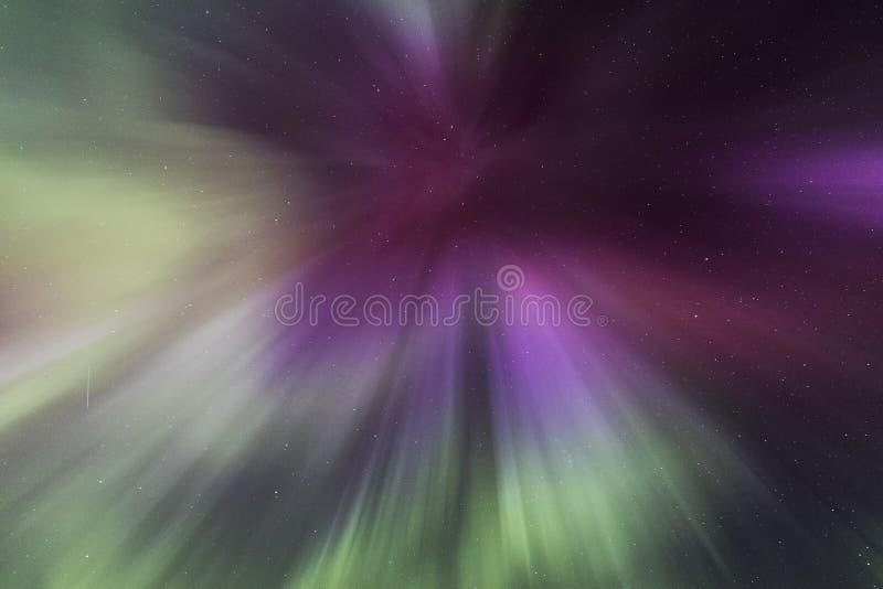 Luz septentrional imagenes de archivo
