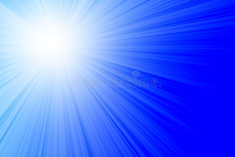 Luz solar ilustração royalty free
