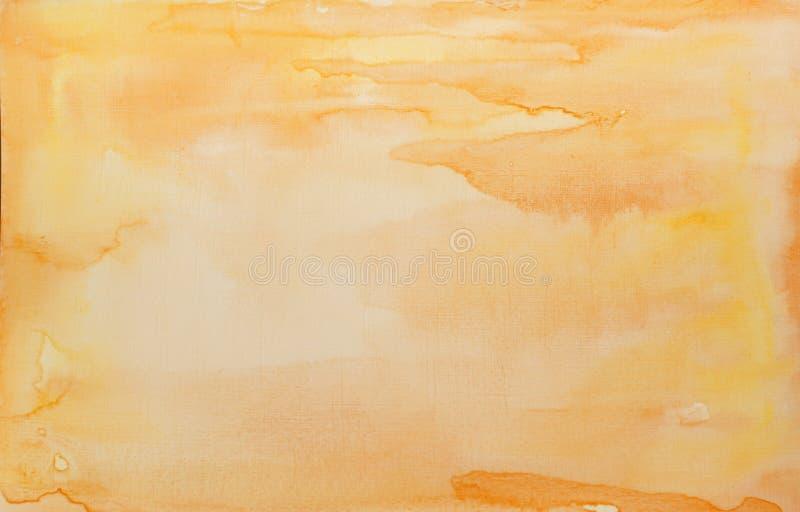 Luz solar da aquarela foto de stock