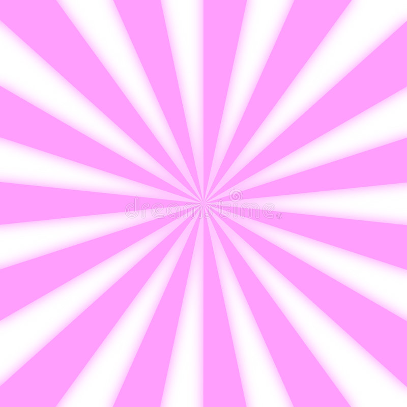 Luz - Starburst cor-de-rosa foto de stock royalty free