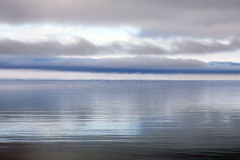 Luz suave del lago fotografía de archivo