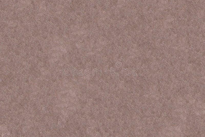 Luz - teste padrão monocromático baixo marrom do projeto do teste padrão da multa do fundo da lona do couro da textura foto de stock