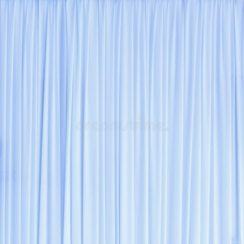 Luz - textura azul da cortina foto de stock royalty free