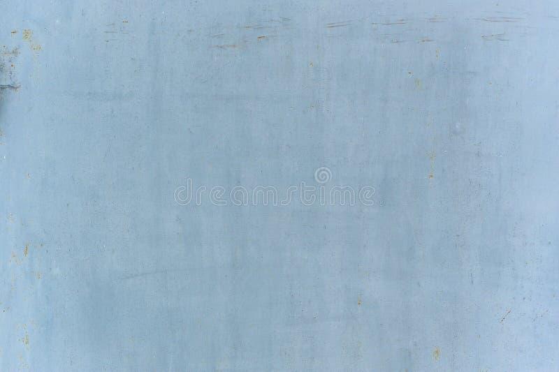 Luz - textura azul do metal fotografia de stock royalty free