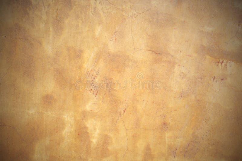 Luz - textura marrom do concreto do grunge imagem de stock