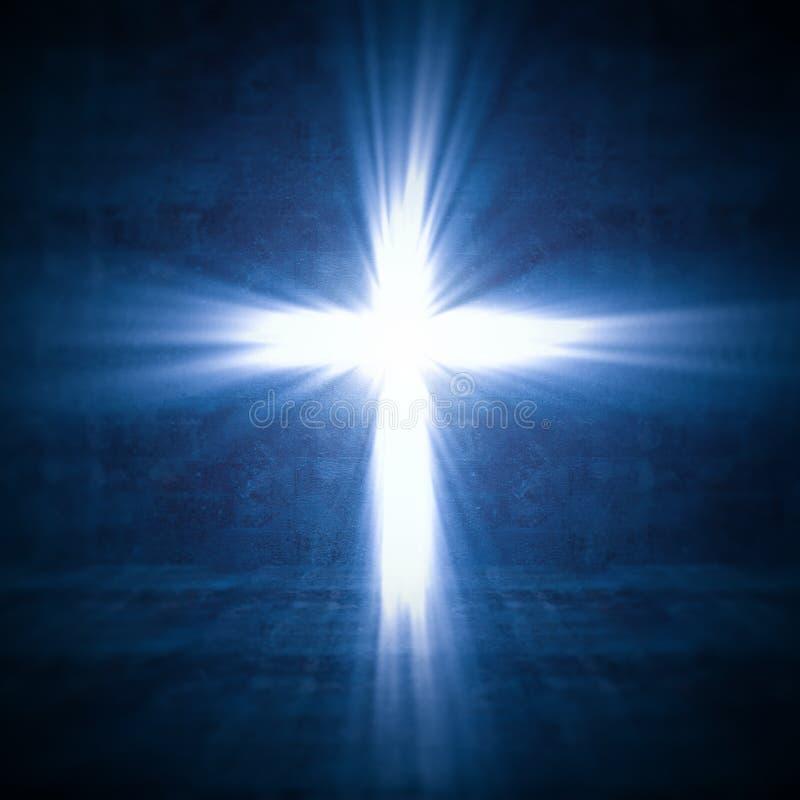 Luz transversal ilustração do vetor