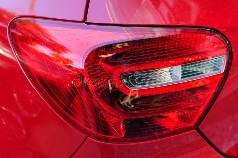 Luz trasera del automóvil fotos de archivo