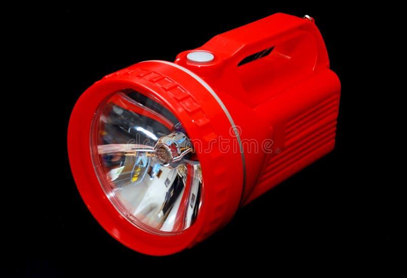 Luz vermelha da tocha foto de stock royalty free