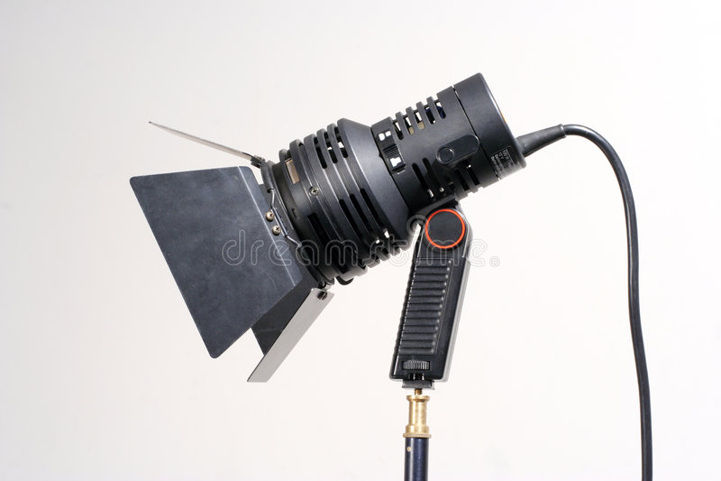 Luz video portable fotografía de archivo