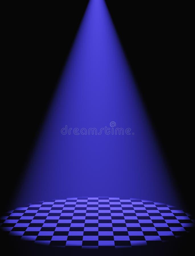 Luz Volumetric ilustração do vetor