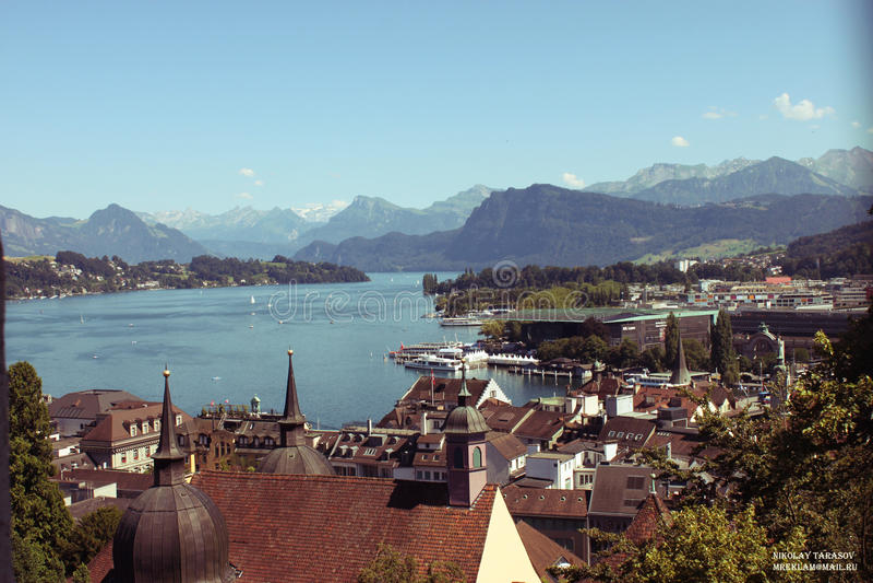 Luzern fotografia de stock