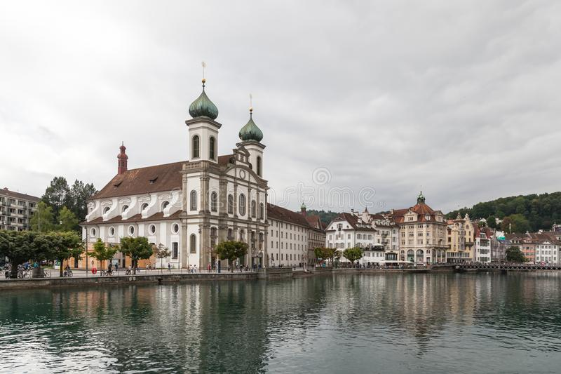 Luzern Church stock photos
