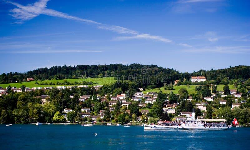 Luzern die Schweiz stockbilder
