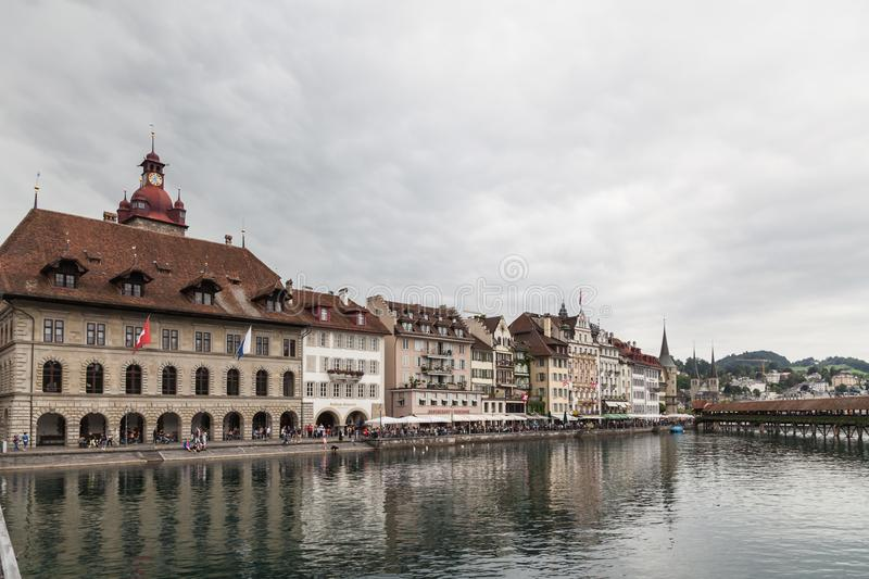 City of Luzern, Switzerland royalty free stock photos