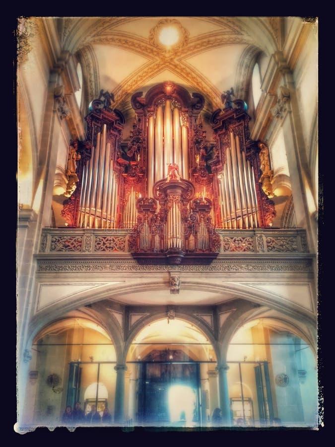 Luzern kyrka royaltyfri bild