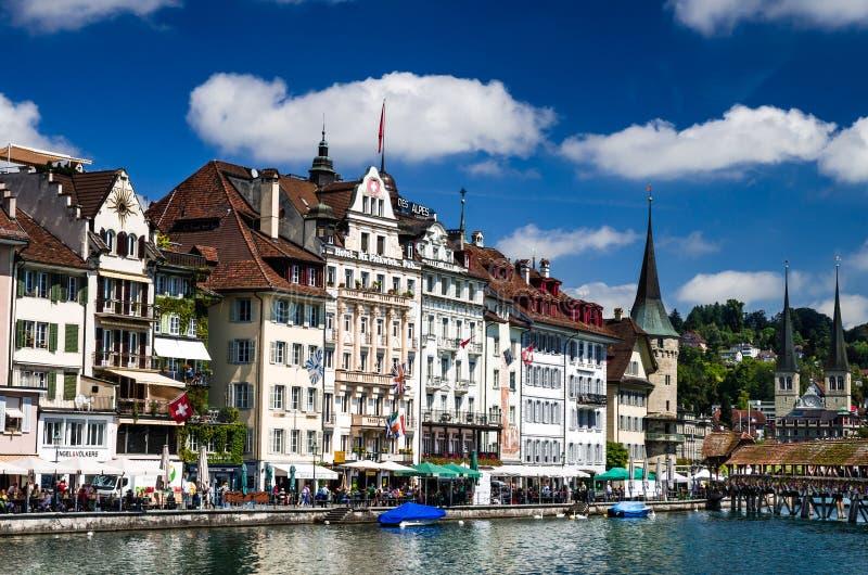 Luzern, Luzerne, Zwitserland royalty-vrije stock foto's
