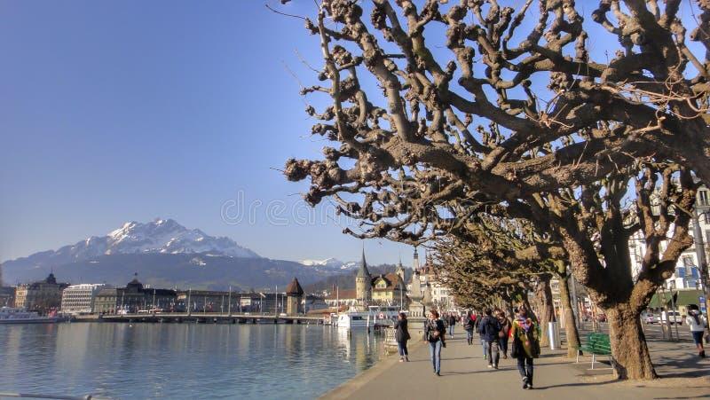 Luzerne, Zwitserland stock foto's