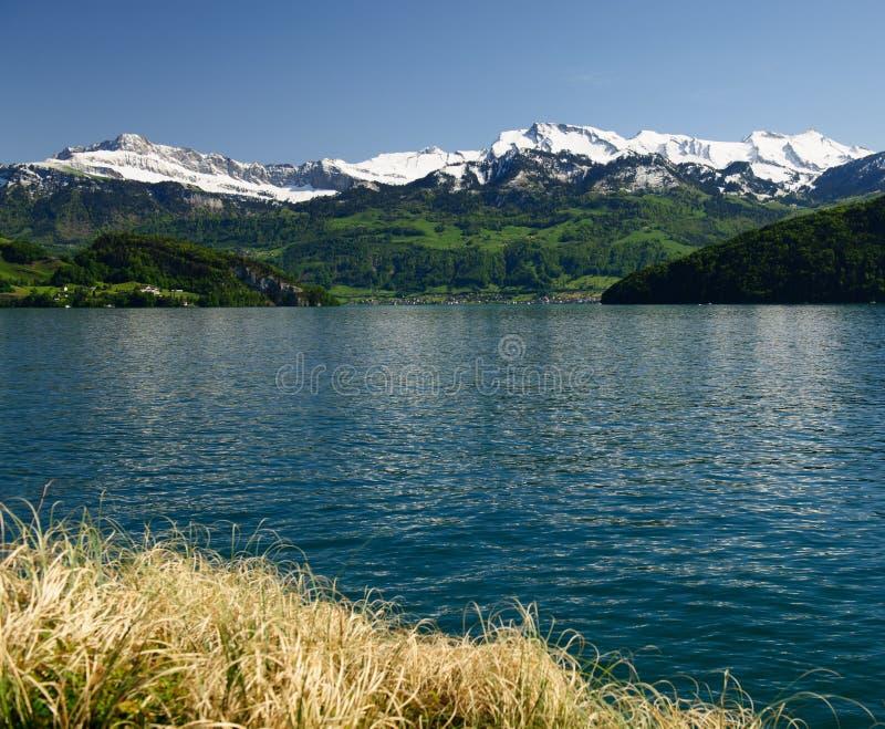 Luzerner See lizenzfreie stockfotografie