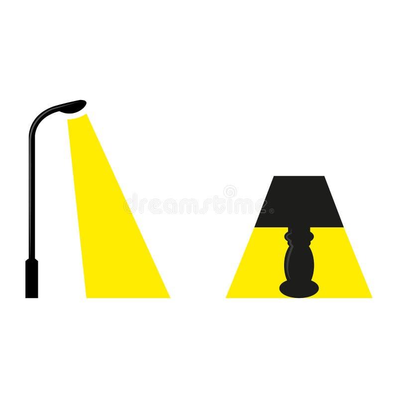luzes ilustração do vetor
