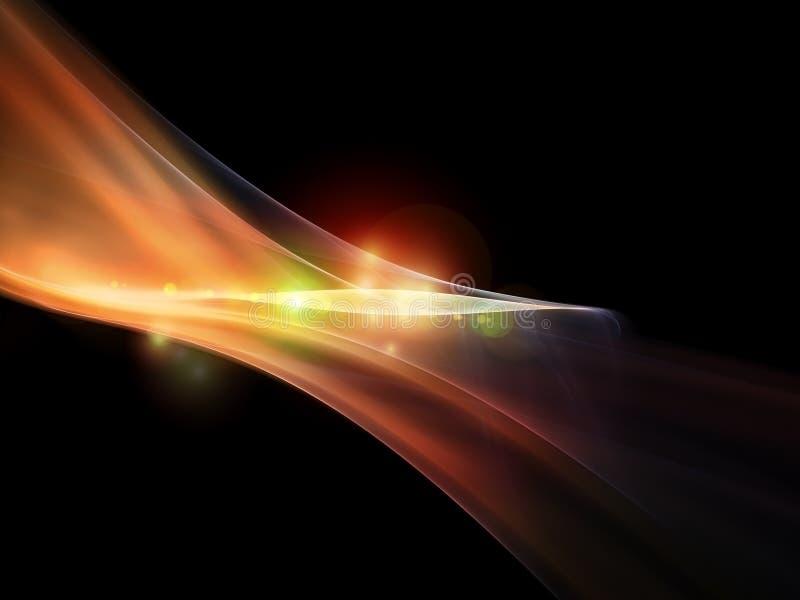 Luzes abstratas ilustração stock