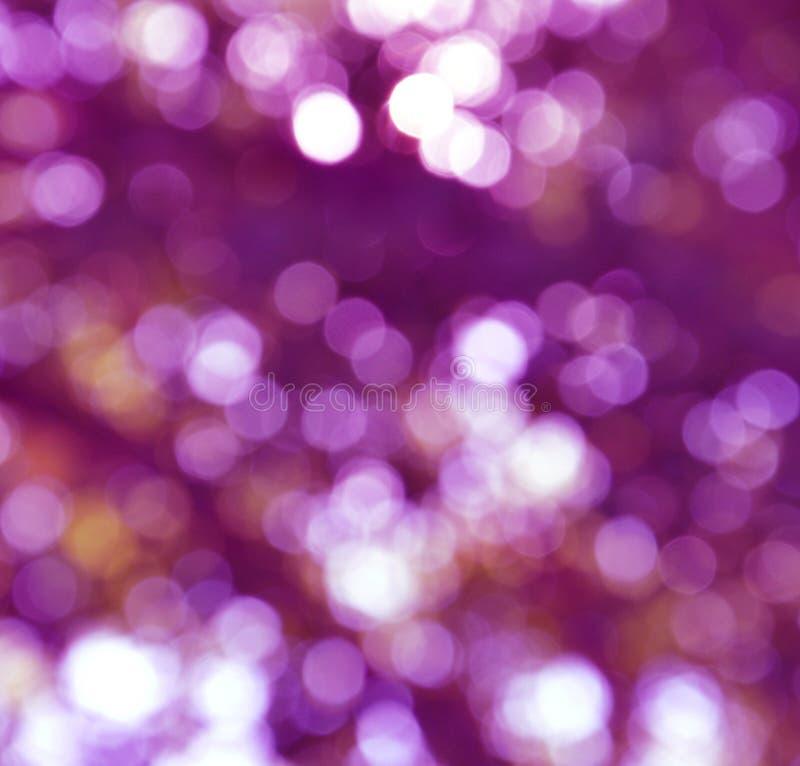 Luzes abstratas do feriado fotografia de stock royalty free