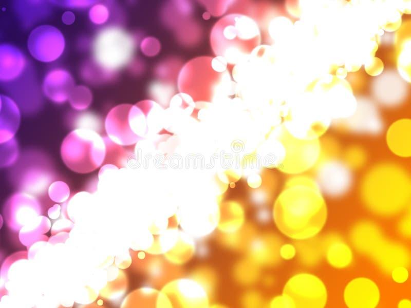 Luzes abstratas do fundo imagens de stock