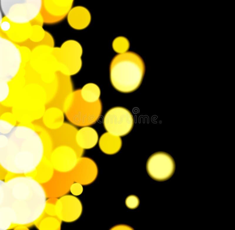 Luzes abstratas do fundo imagens de stock royalty free