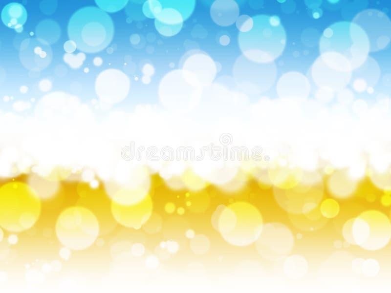 Luzes abstratas do fundo fotos de stock royalty free