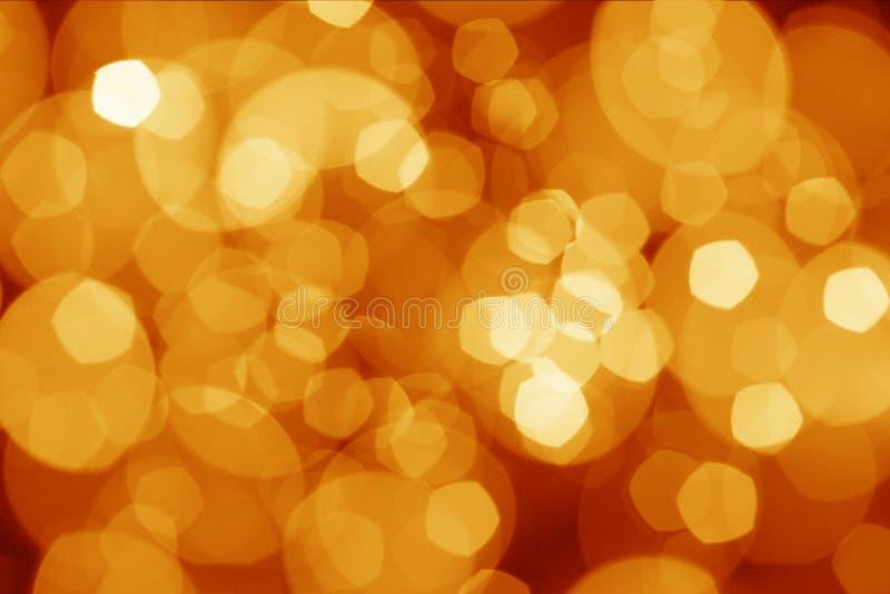 Luzes abstratas dos christmass fotos de stock