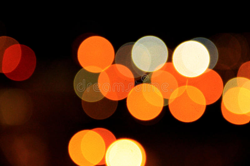 Luzes borradas foto de stock royalty free