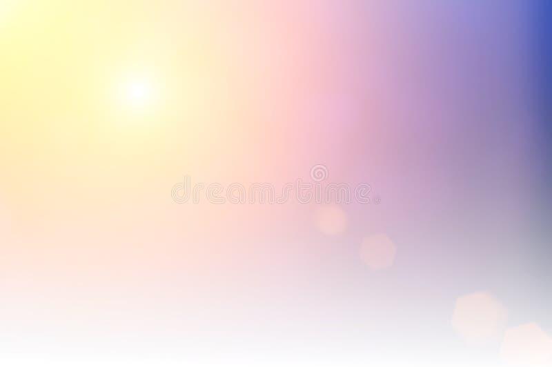 Luzes borradas da árvore de Natal no fundo foco do efeito do projeto ilustração do vetor