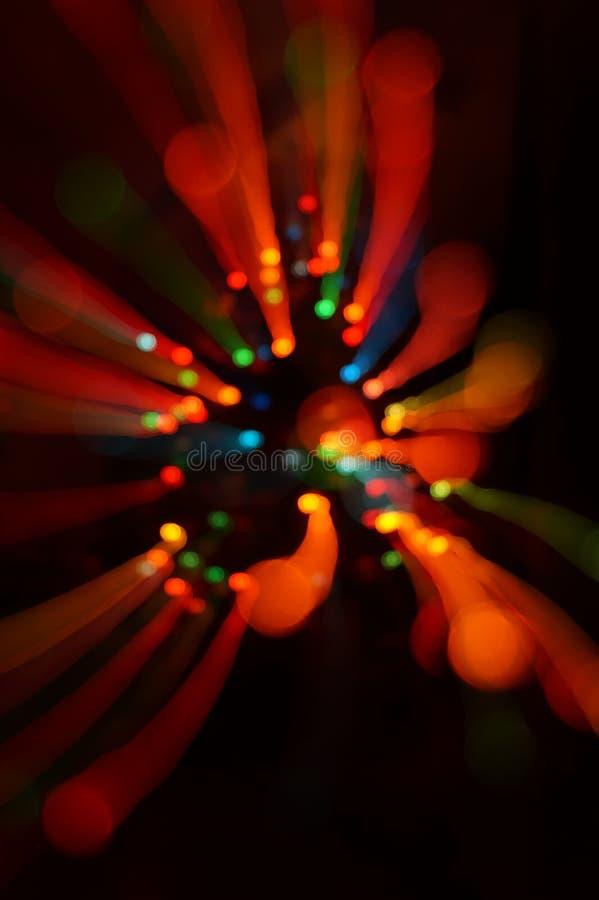 Luzes circulares coloridas imagem de stock