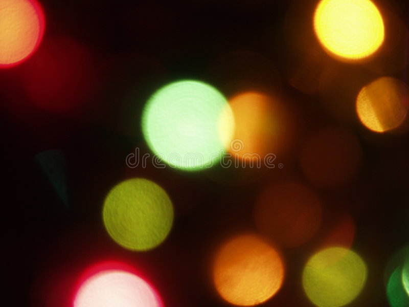 Luzes coloridas foto de stock