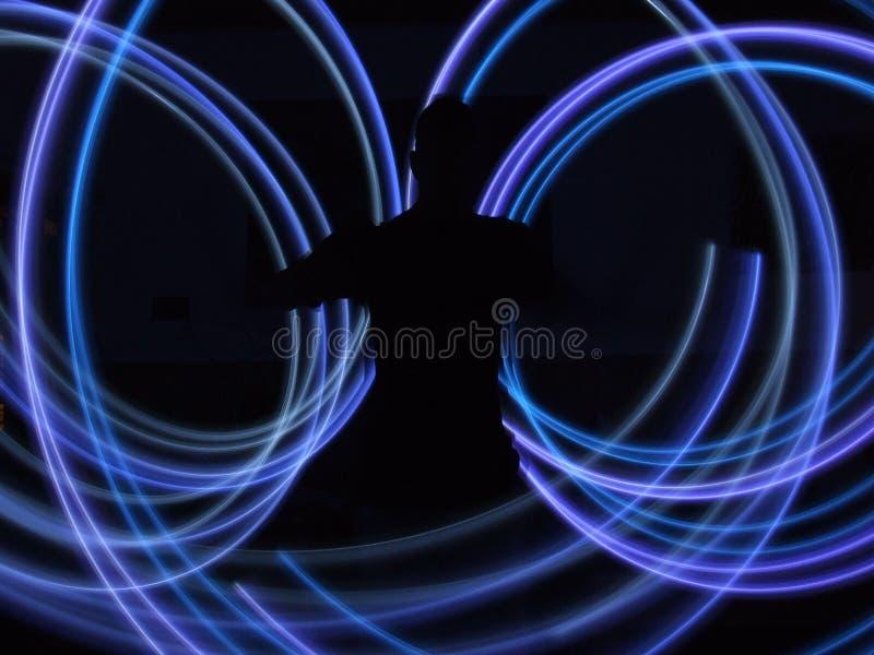 Luzes conduzidas foto de stock
