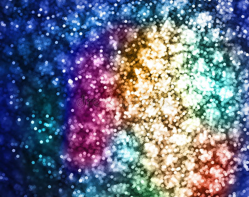 Luzes da cor imagem de stock royalty free