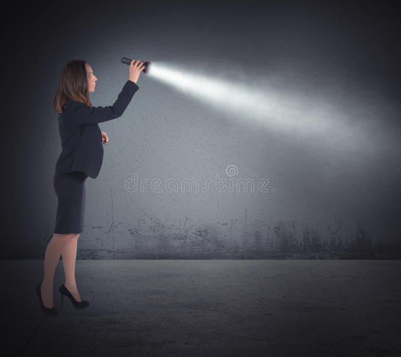 Luzes da tocha a procurar fotos de stock royalty free