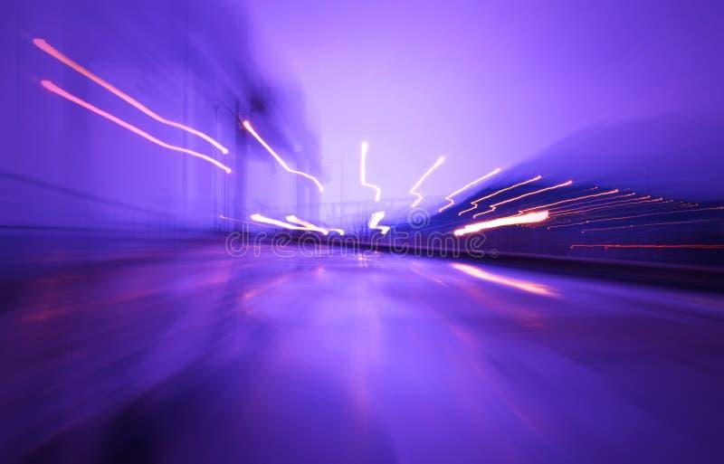 Luzes da velocidade fotos de stock