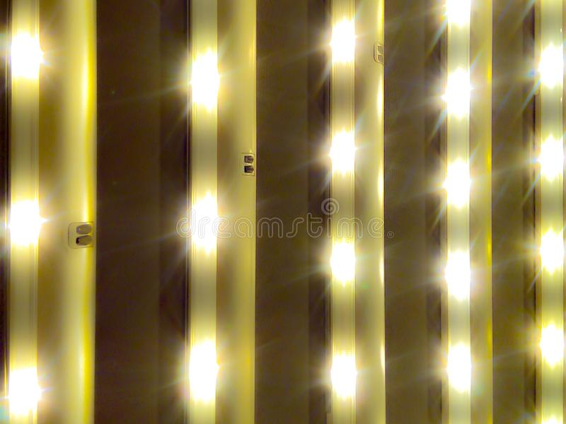 Luzes das lâmpadas conduzidas úteis para todos os tipos do negócio fotografia de stock