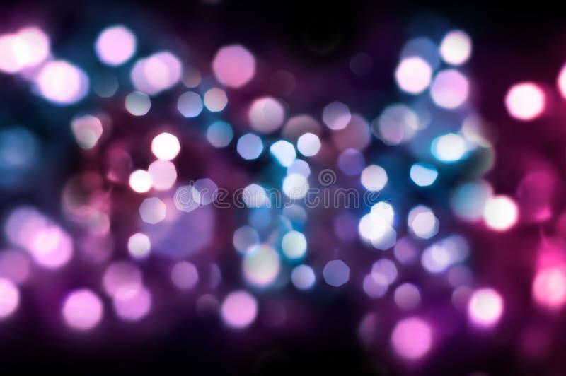 Luzes de brilho fotografia de stock royalty free