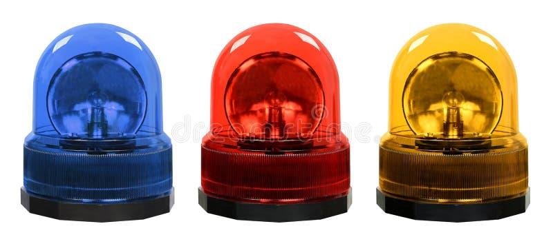 Luzes de emergência imagem de stock royalty free