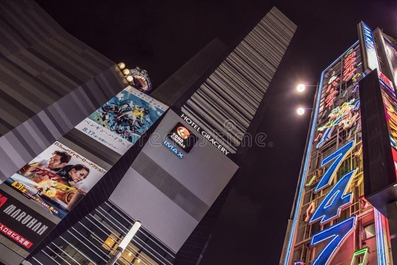Luzes de Kabukicho, Tóquio, Japão fotos de stock