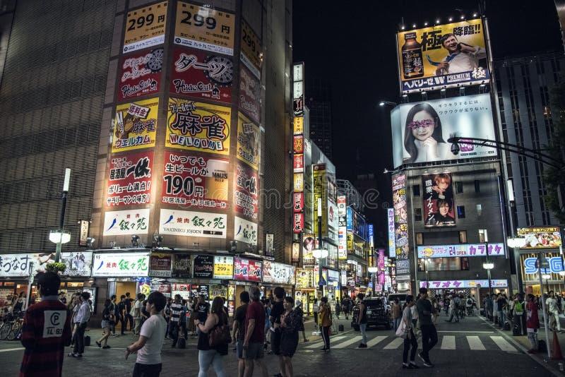 Luzes de Kabukicho, Tóquio, Japão foto de stock