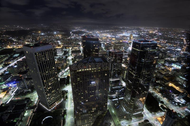 Luzes de Los Angeles imagens de stock royalty free