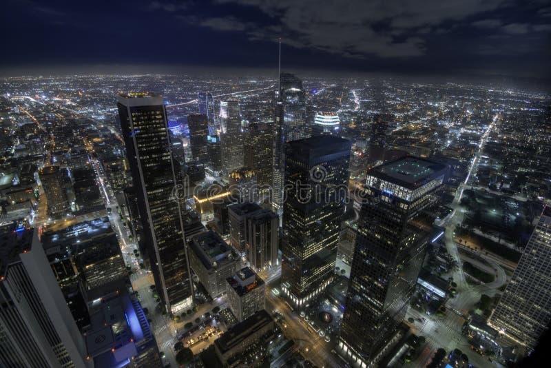 Luzes de Los Angeles foto de stock